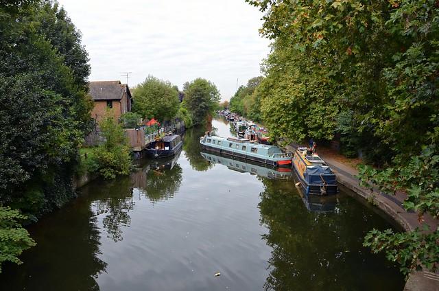 Regents Canal at Victoria Park