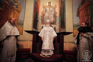Литургия в Иверском монастыре 310