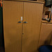 Tall oak laminate 2 door wardrobe €150