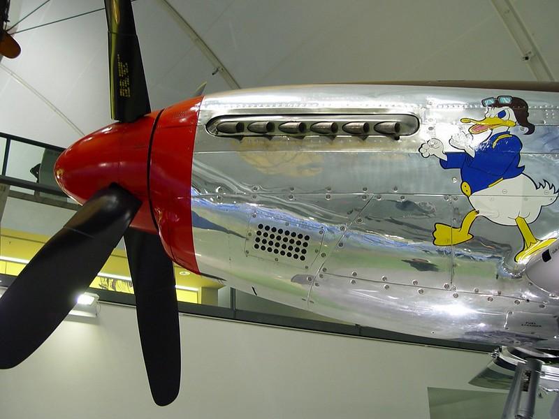 Nordamerikanske P-51D Mustang 6