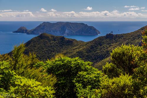 ocean new travel newzealand tourism nature landscape island great hike auckland zealand nz barrier wilderness greatbarrierisland rakitu looout