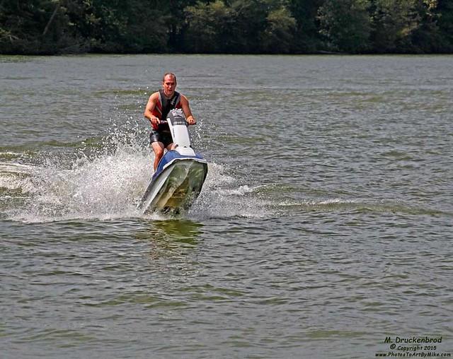 Jet-propelled Kyle, Lake Anna VA
