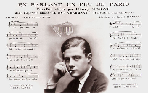 Henri Garat in Il est charmant (1932)