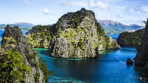 travel sea lake nature landscape island philippines coron