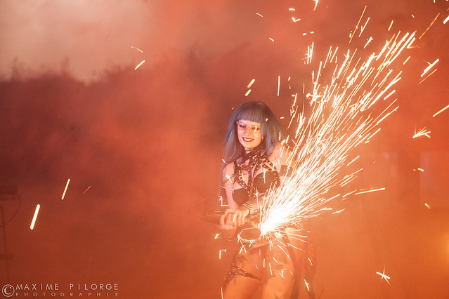 Hellfest 2015 Pyrohex Rebecca Crow