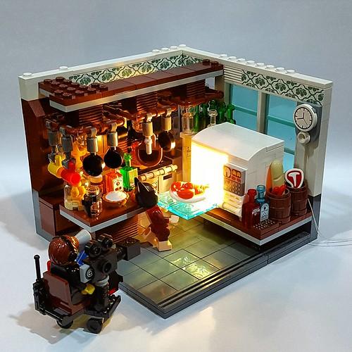 LEGO Batman Movie Lobster Scene