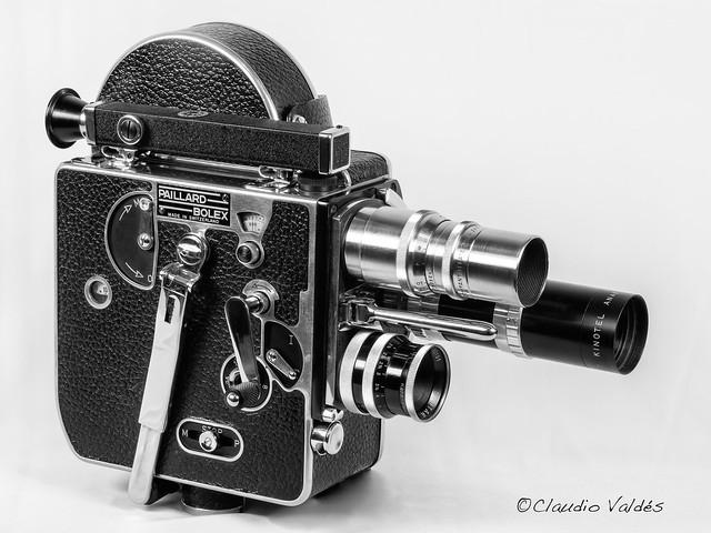 Bolex Paillard 16mm Movie Camera