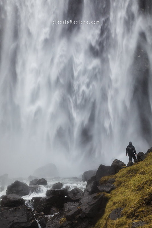 Fossá waterfall