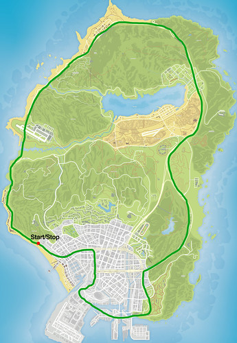gta 5 route | by shmogt