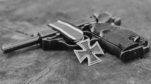 P38 Iron Cross