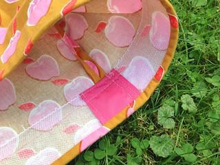 Pink Apples Dirndl Skirt | by patternandbranch