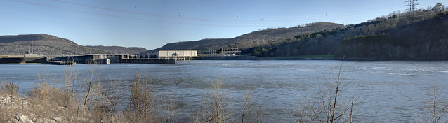 Nickajack Dam, Tennessee River, Marion County, Tennessee