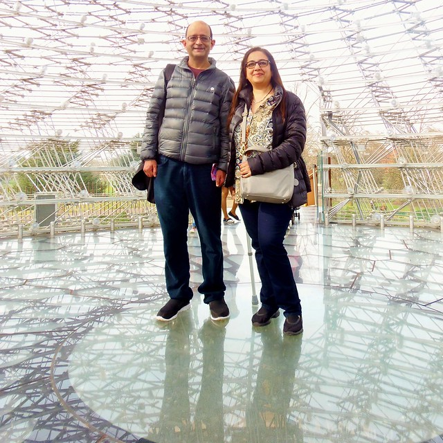 The Hive - Nilesh & Sangita - First Visit of Kew Gardens @ 11 March 2017