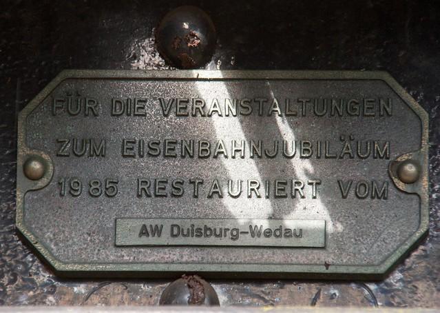 02.10.2005 Bw Gelsenkirchen Bismarck. DR Essen 119 086 SSml