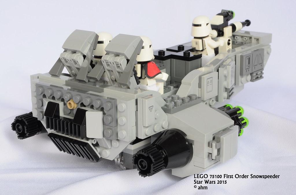 """LEGO Bau- & Konstruktionsspielzeug Lego Star Wars 75100 """"First Order Snowspeeder LEGO Baukästen & Sets"""