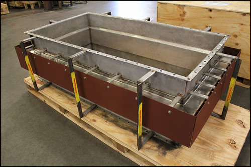 "75"" Long Rectangular Expansion Joint Designed for a Boiler Exhaust Application"