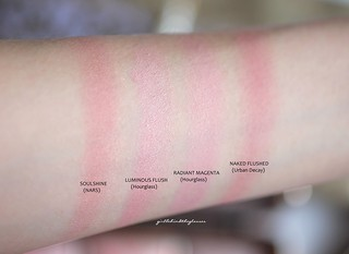 Pink blushes swatches5 | by <Nikki P.>