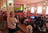 Festveranstaltung im Kulturheim mit Ansprachen der Gäste und Gastgeber