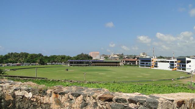 Galle Fort - Cricket stadium