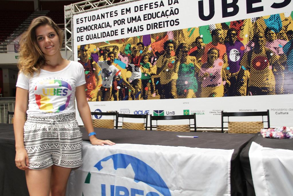Camila Lanes, é eleita nova presidenta da UBES | UBES | Flickr