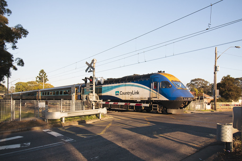 XPT off the beaten track