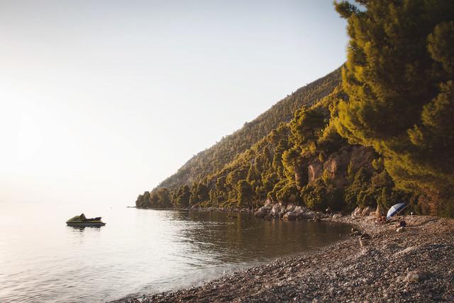 Daphne Beach, Evia island