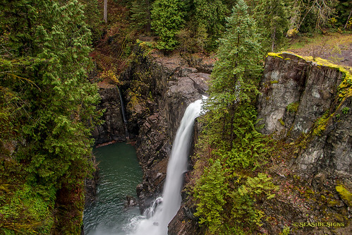 Elk Falls  ~ Campbell River, BC | by Michael Thornquist