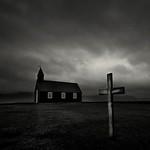 Black Church White Cross