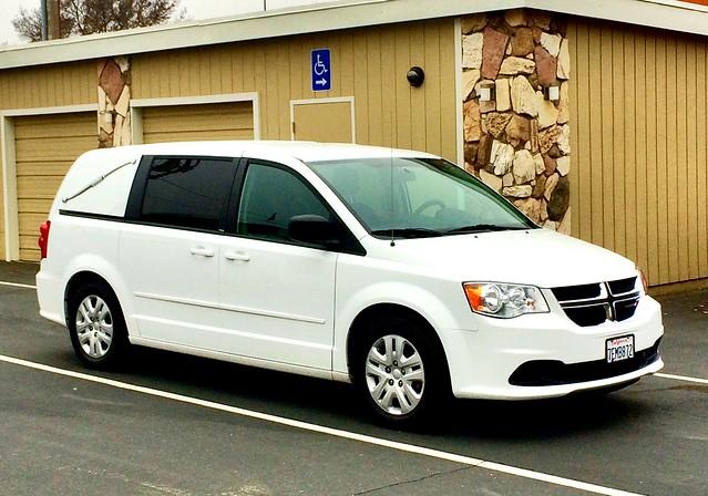 Dodge Grand Caravan funeral service van