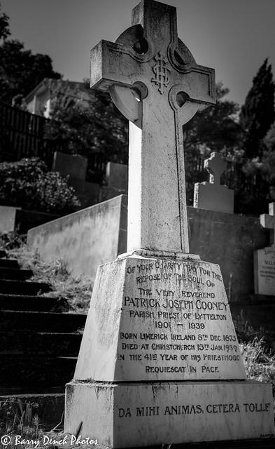 Lyttelton cemetery- RC section