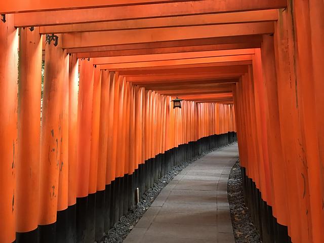 At Fushimi-Inari