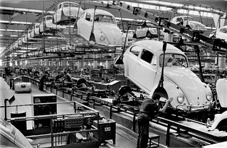 Volkswagen Beetle Assembly Line | by aldenjewell