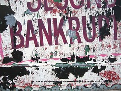 bankrupt   by atomicity