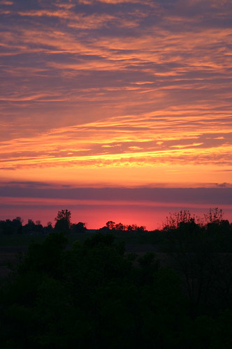 pink sunset purple horizon masoncounty maysville