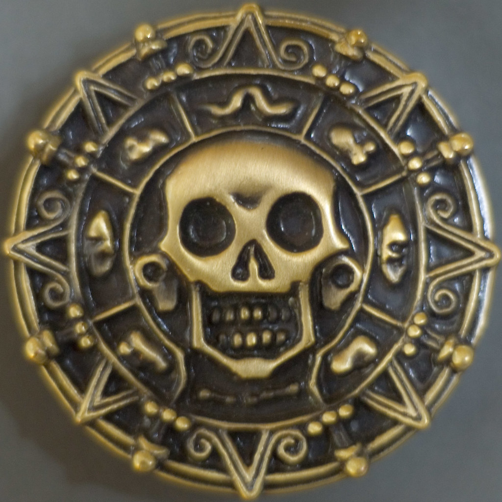 Cursed Medallion Squircle | A closeup of a replica medallion… | Flickr
