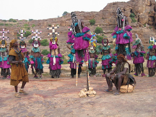 Dogon dancers | by Erwin Bolwidt