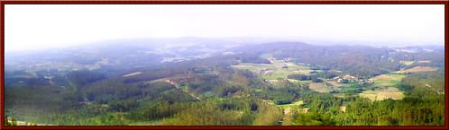 autostitch españa geotagged spain galicia panoramica santiagodecompostela niebla boqueixon picosacro geo:lat=42807157 geo:lon=844619 conxabi connohara