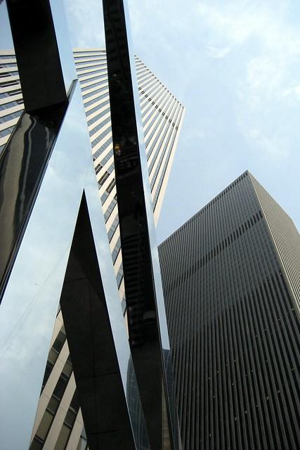 NYC: McGraw-Hill Building Plaza Sun Triangle