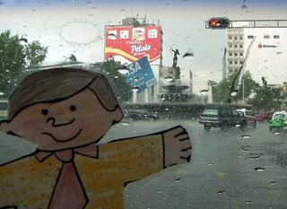 Bobby in Paseo Reforma