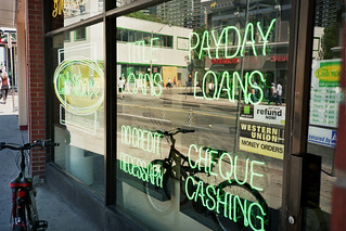 Payday Loans Cheque Cashing | by fortinbras