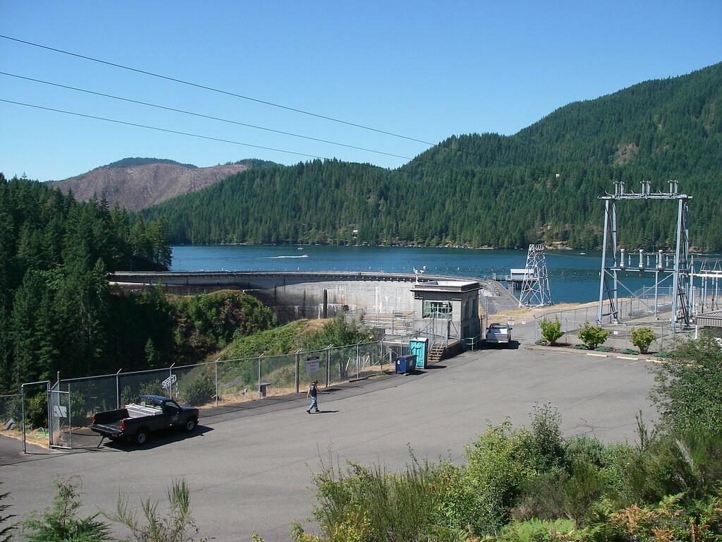 Cushman 1 Dam, Cushman Reservoir