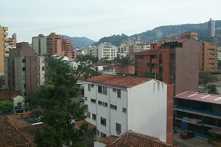 View of Bucaramanga from my hotel room