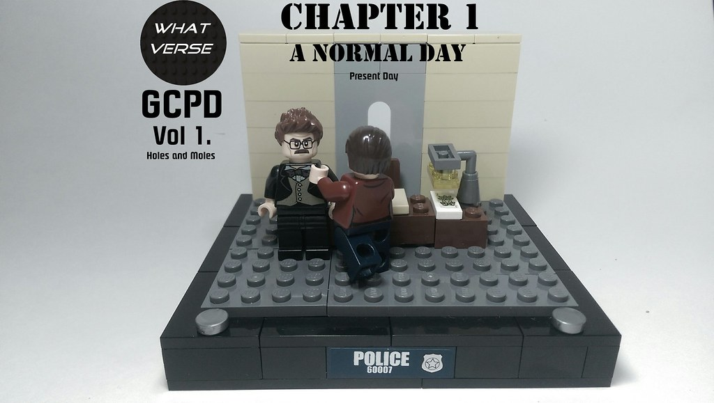 GCPD Vol 1  Holes and Moles, Chapter 1: A Normal Day | Flickr