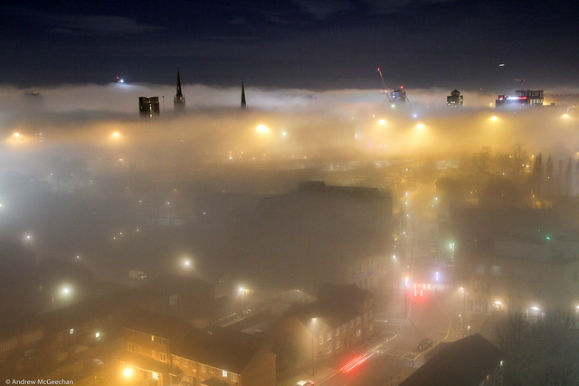 Fogbound Coventry