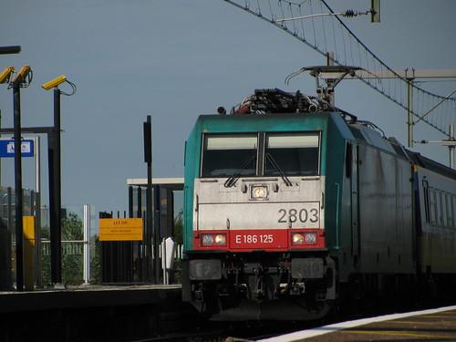 Toen ik op het station van Nieuw vennep stond had ik niet verwacht dat de ns 2803 langs kwam dus was ik wel verbaasd. Ook vond ik het grappig dat Marklin precies dit model heeft na gemaakt. | by remco2000
