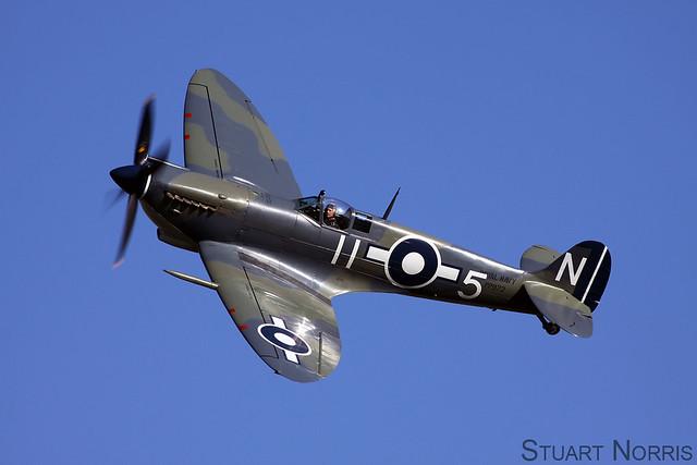 Seafire LF.III PP972 G-BUAR - Air Leasing Limited