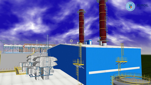 185 MW Gas Cogeneration Power Plant