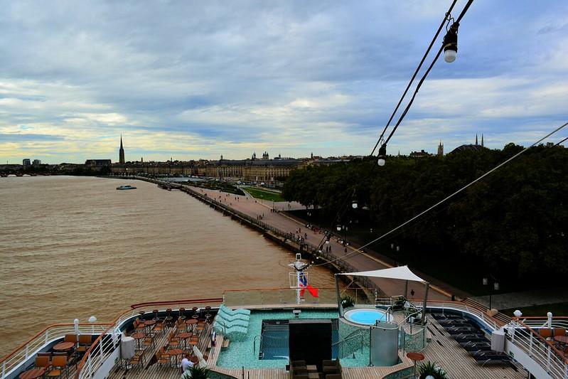 Visite du paquebot AMADEA - Bordeaux, 16 septembre 2015