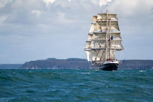 BELEM  - Rade de Brest | by Sailing Evidence