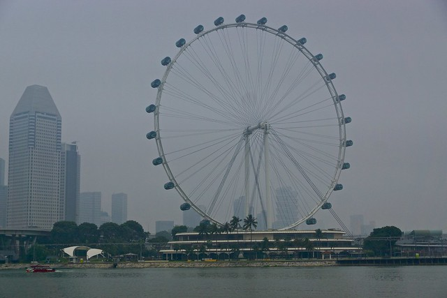 The Singapore Flyer ferris wheel